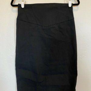 ExpressDesign Studio Pencil Skirt Lace Back Slit 4